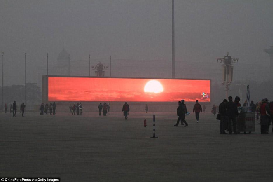 Imagen del mes: contaminación en China