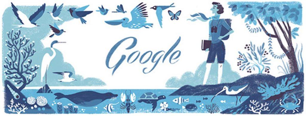 Imagen del mes: Rachel Carson, el nuevo doodle de Google
