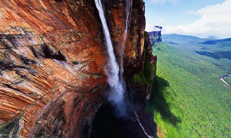 Imagen del mes: Salto del Ángel, la cascada más alta del mundo