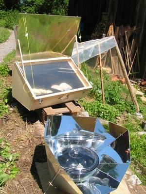 Tipos de horno solar