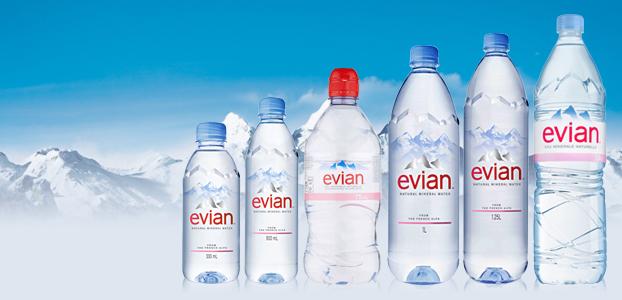 Evian-pet